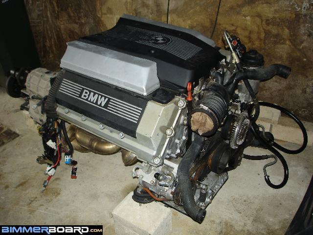 Storage of M60B30 and 5HP18