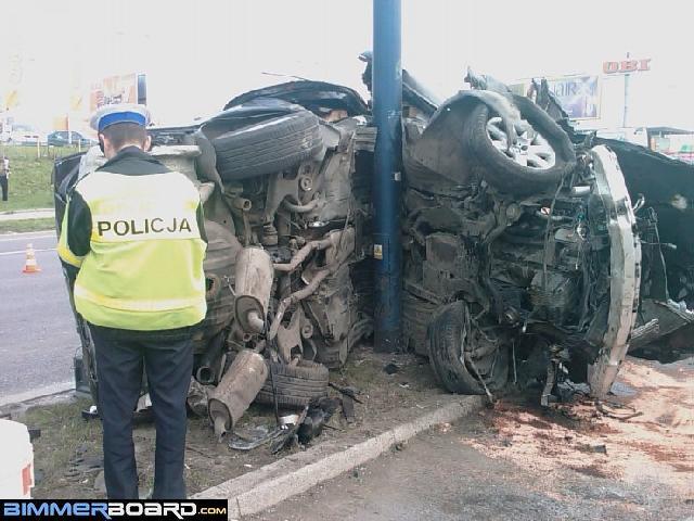 BMW E38 Club - Рандомность повреждений Е38 в разных типах аварий.