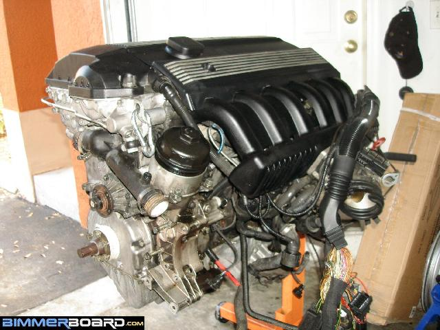 Suspension rebuild/M52 engine swap update