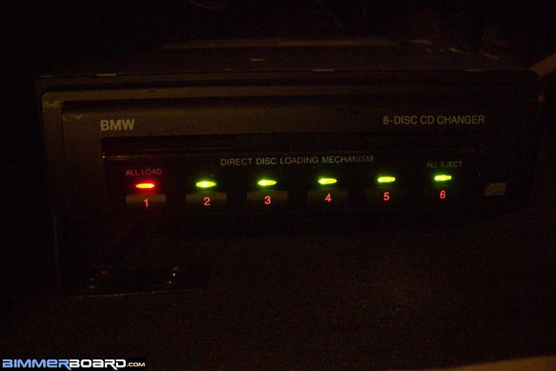 BMW Nakamichi Glove Box CD Changer Installation Summary