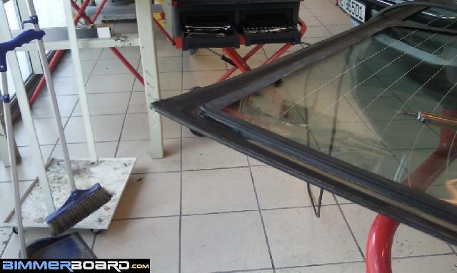 BMW E38 Club - E38. Установка стеклопакета. Своими руками!