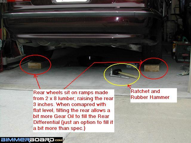 REAR Diff & MANUAL Trans Fluid Change: Tips and Tricks