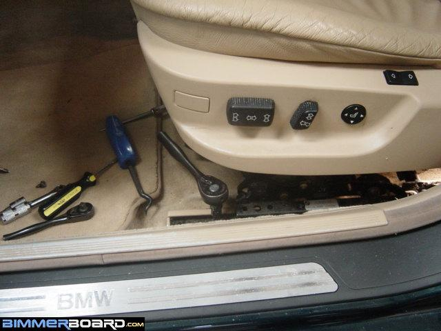 e36 sedan seat removal