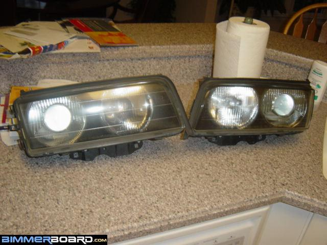 Factory Xenon headlights retrofit