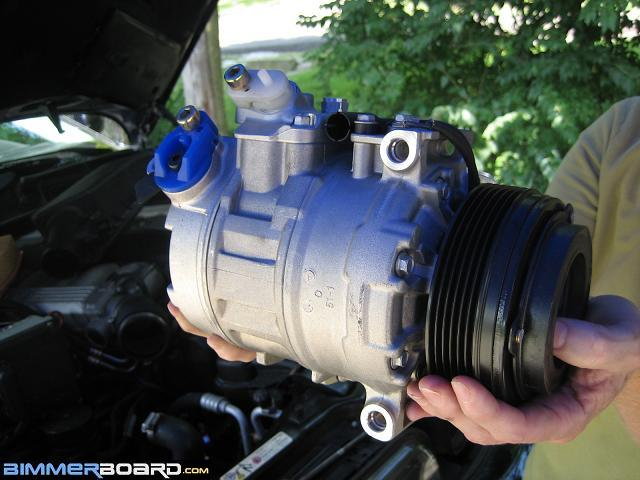 Air conditioning compressor replacement procedure (long