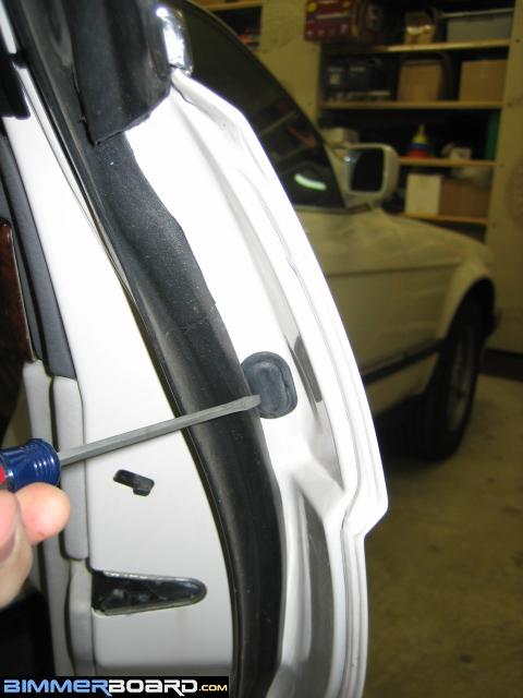 Door Handle Seal Removal And Replacement