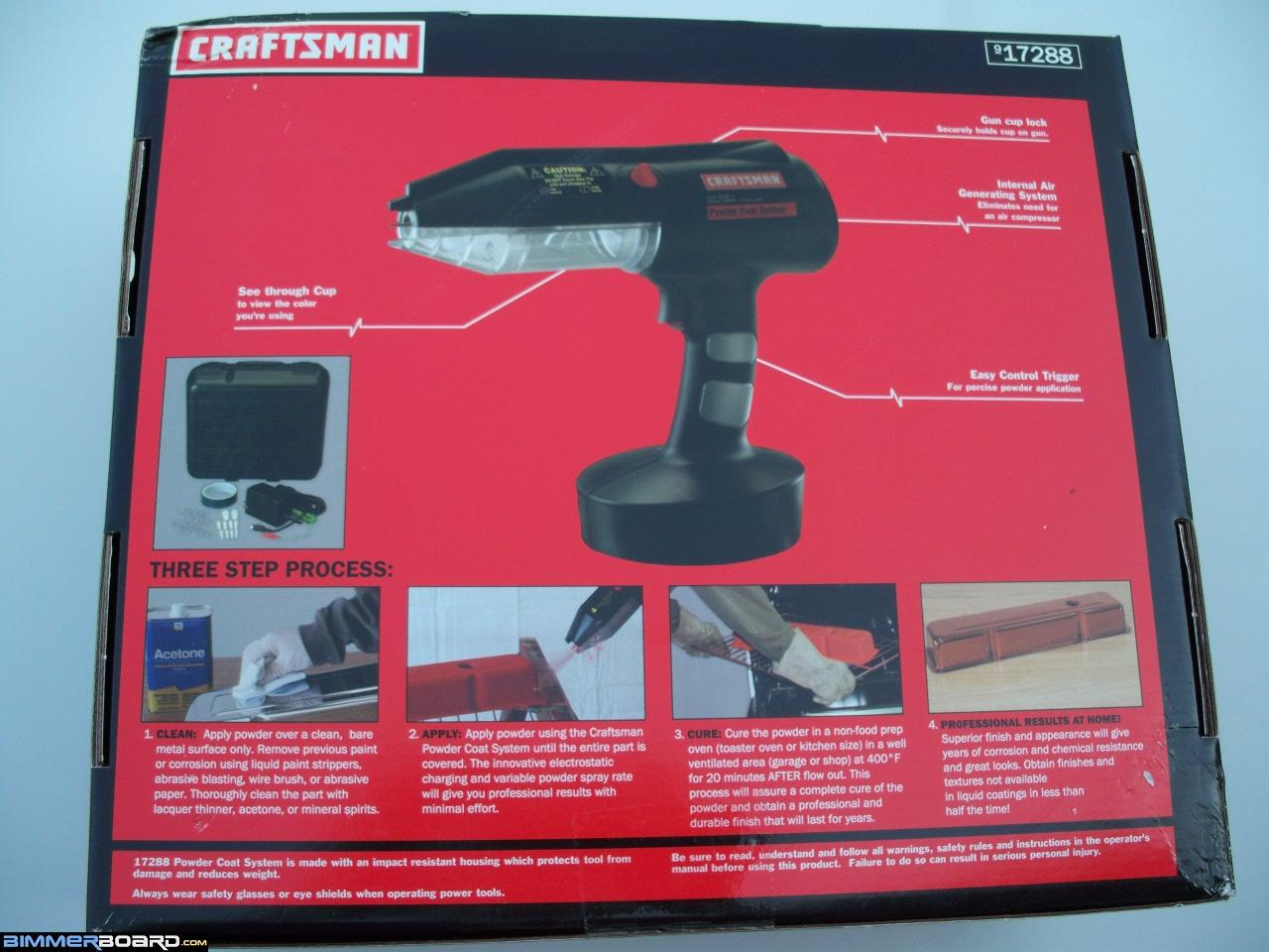 Great Buy On A Craftsman Powder Coating System