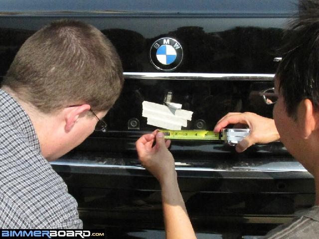 How to drill the trunk to access keys locked in the trunk
