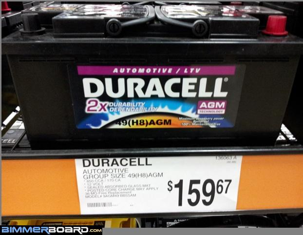 Replacement battery that IS NOT a Duralast DL-49