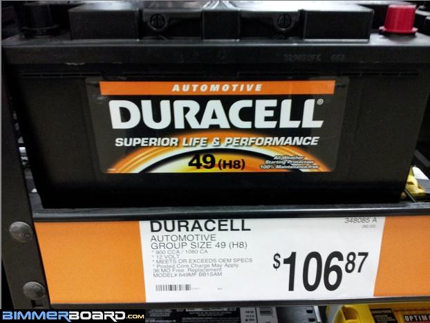 Replacement Battery That Is Not A Duralast Dl 49