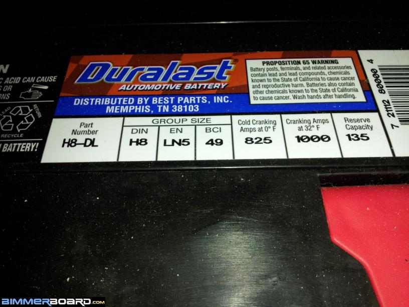 Bought an Duralast battery, but it doesnt have a vent tube? - Page 2