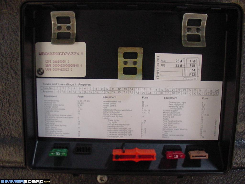 E34 Fuse Cvr Index removing fuse behind glove box bimmerfest bmw forums 1995 bmw m3 fuse box at nearapp.co