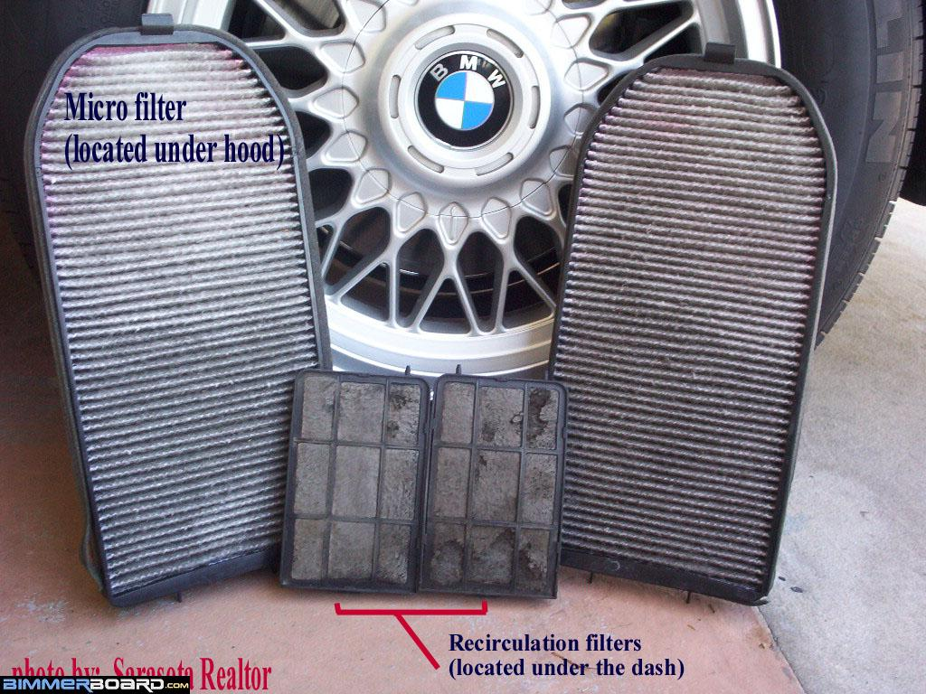 Cabin filter activated charcoal vs microfilter bimmerfest bmw forums