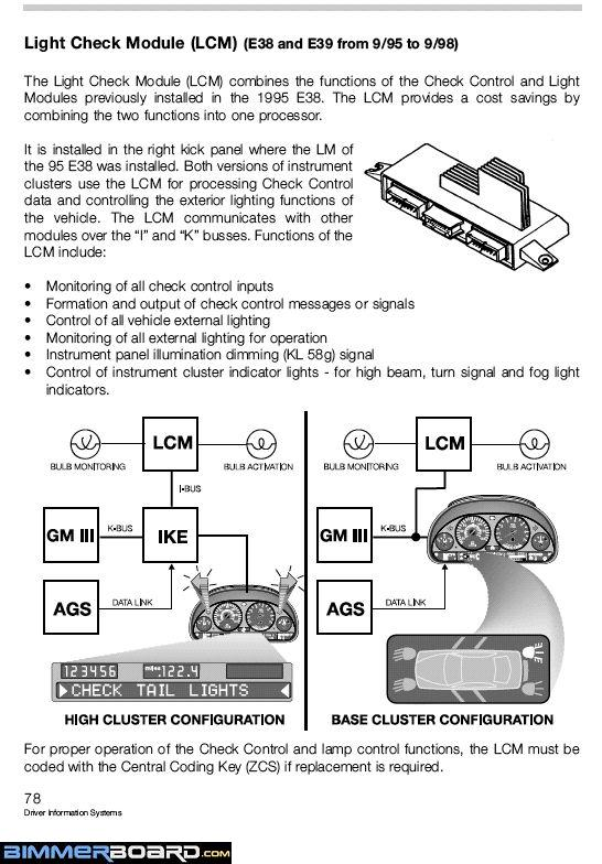 E39 Glove Compartment Fuse Guide - Page 2