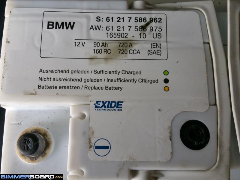 Replacement battery  Bimmerfest  BMW Forums