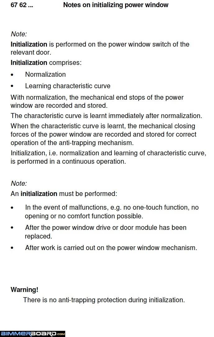 Reinitializing Info Power Windows Auto Up Auto Down e39 passenger window won't go up auto bimmerfest bmw forums  at mifinder.co