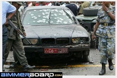 750il with bullet proof glass ??? - Bimmerfest - BMW Forums