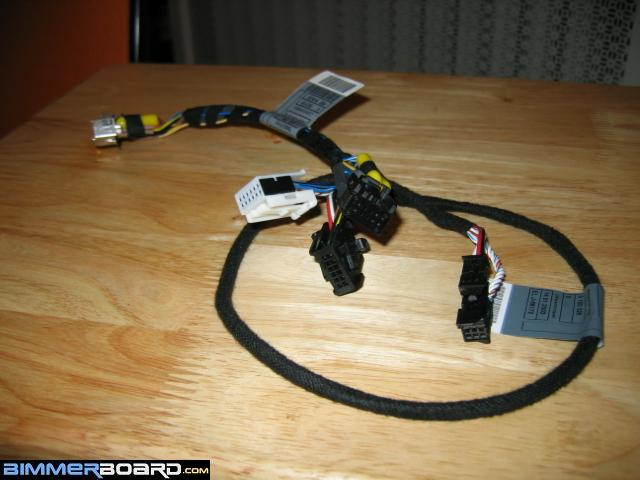 new radio upgrade sirius also pin out on audio adapter from next to attach the aux adapter see picture below 3 wires to the black 12 plug on this new harness above