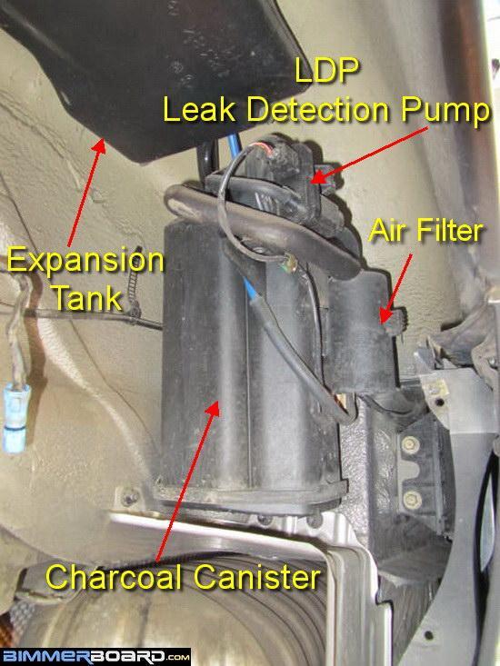 P0453 Code and Diagnosing the Leak Detection Pump