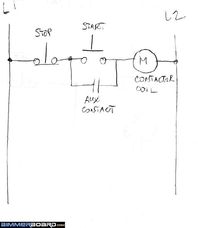 img096 wiring run stop switch to mag starter? off topic discussion forum latching contactor wiring diagram at mifinder.co