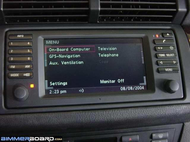 Bluetooth Retrofit Into A 2001 Bmw X5