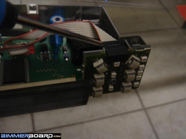 BMW E38 Club - Восстановление пикселей инфорамационного дисплея. Делал сам !